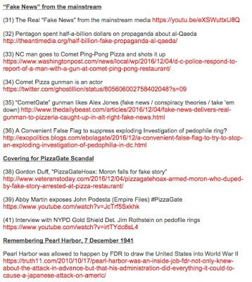 """False Flag Weekly News"" (FFWN) CENSORS ""PizzaGate"" reports (Part 1)Jim Fetzer Imagine my astonishment to receive a note that ""False Flag Weekly News"" which is produced by Allan Rees of noliesradio.org had taken down four shows that I had done for him as ""Guest Host"" with Scott Bennett a former Army intel and spy-ops officer who became a whistleblower and has published a major revelation about the financing behind 9/11 SHELL GAME (2015) and taken out our reports about major developments in…"
