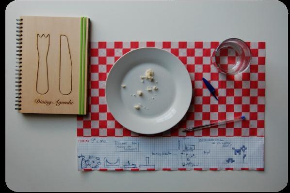 dining agenda - sara ferrari  http://www.saraferraridesign.com/