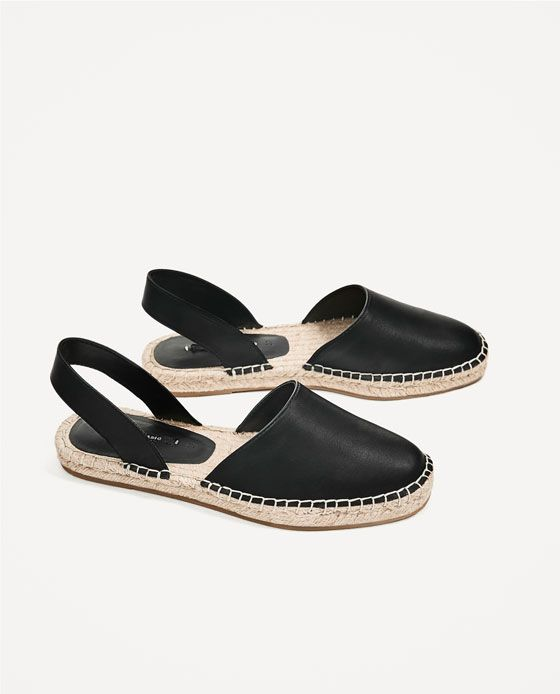 Image 3 of SLINGBACK ESPADRILLES from Zara