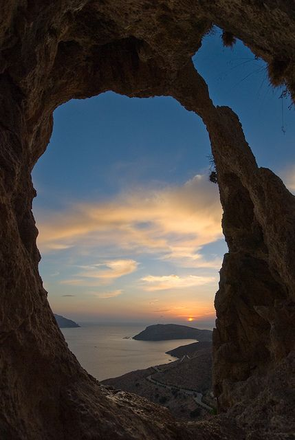 Sunset Kalymnos island, Greece #travel #budget #free @ itsoneworldtravel.com