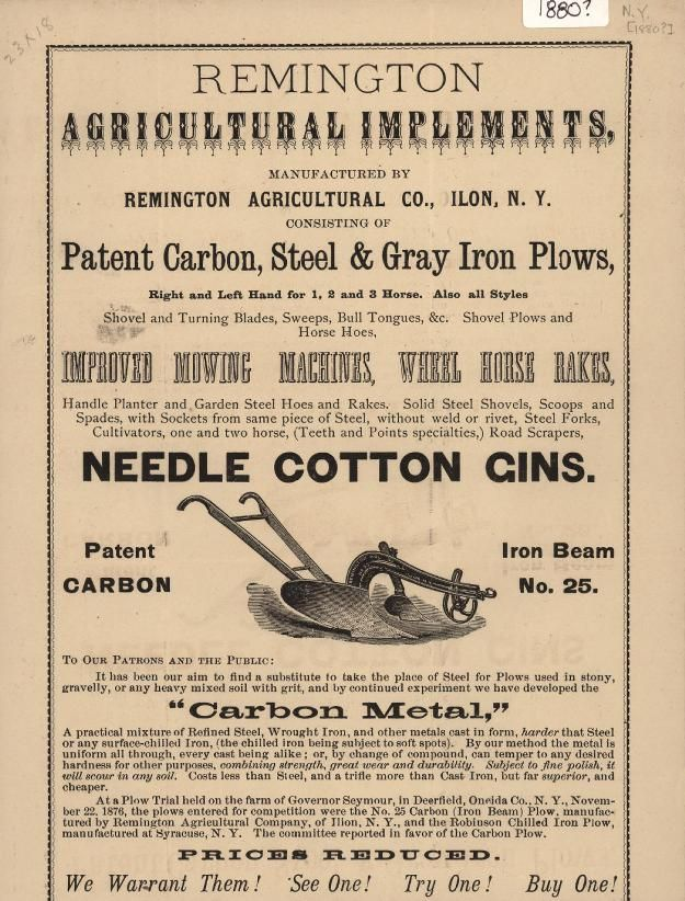 Remington Agricultural Implements