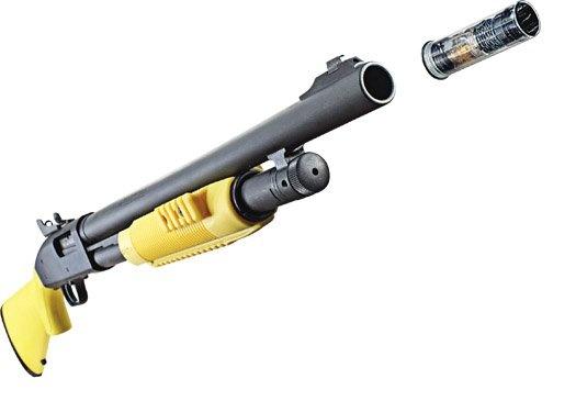 How It Works: Taser's Electrified Shotgun Slug | Popular Science