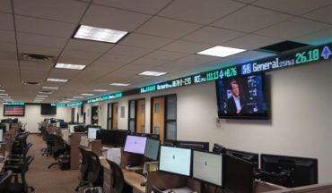 LED Stock Tickers and Financial Displays