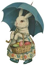 candy cup easter baskets victorian | spring into easter crafts with vintage images of easter past