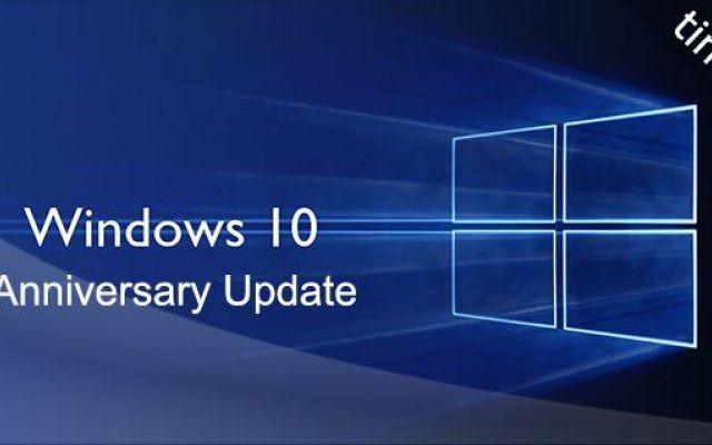 Windows 10 - Nuovo aggiornamento per l' anniversario! Oggi Microsoft celebrerà il primo anniversario di Windows 10, esattamente un anno fa, il 29 luglio 2015, fu rilasciata la prima release. Quest'anno è stato molto impegnativo per Microsoft, che ha res #windows #upgrade #anniversary #windows10