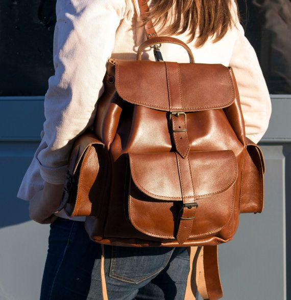 Leather Backpack  Leather Rucksack  Mens Leather by MagusLeather
