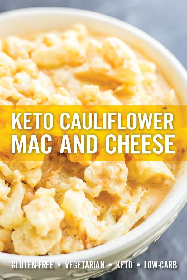 Quick And Easy Cauliflower Mac And Cheese Has All The Goodness Of Mac And Cheese Without The Gluten Or In 2020 Cauliflower Mac And Cheese Cheesy Recipes Mac And Cheese