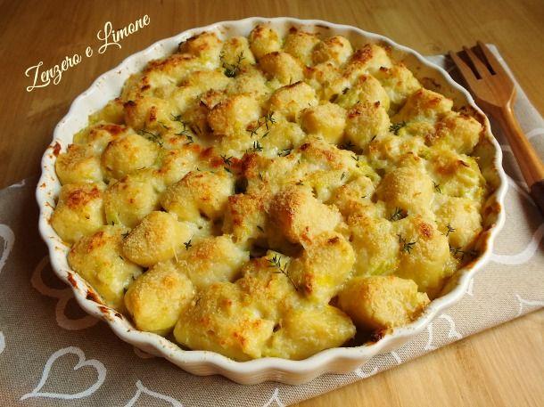 Gli gnocchi alla parigina sono molto particolari ed estremamente delicati. Sono preparati con una sorta di pasta choux e vanno poi gratinati in forno.