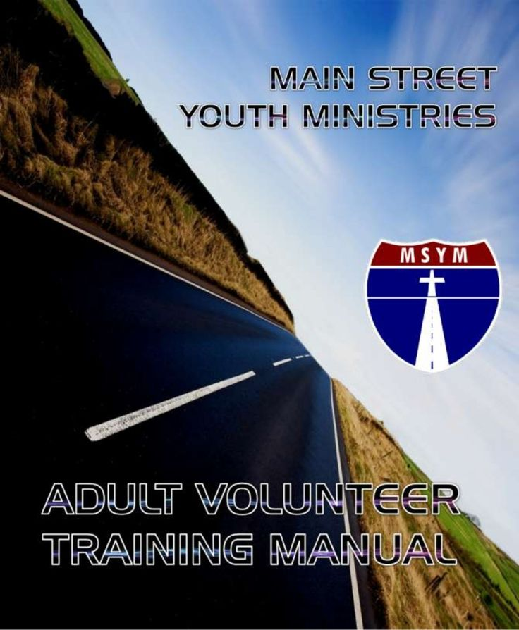 Youth Ministry Volunteer Training