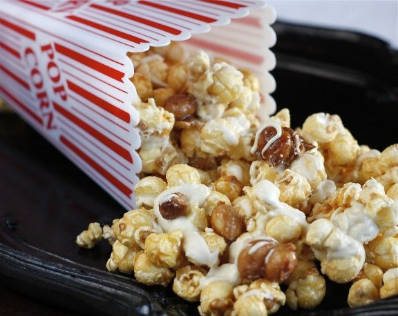 White Chocolate Candied Macadamia Nut Cracker Jacks  Print Prep time 0 min Cook time 0 min Total time 0 min  Ingredients For Caramel Popcorn (if you are short on time, buy pre made caramel corn): 4 cups freshly popped corn, lightly salted 1 cup packed brown sugar ½ cup butter ½ cup …