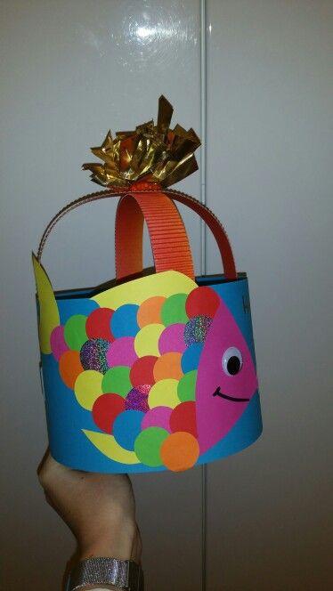 Mooiste vis van de zee. Rainbow Fish