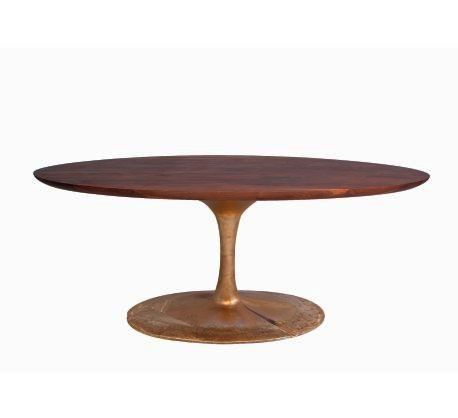 Lucia A Dining Table Organic Modernism Hand Forged
