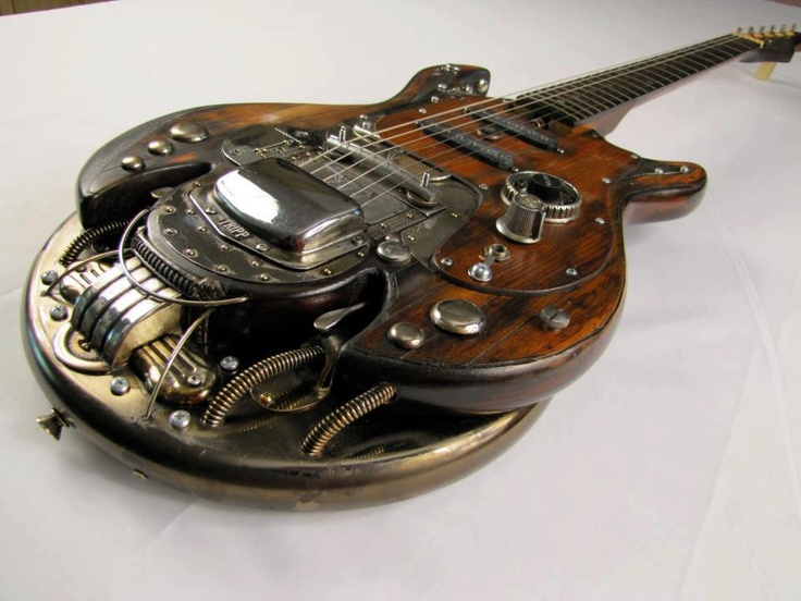 480 best guitar steampunk images on pinterest electric guitars guitars and bass guitars. Black Bedroom Furniture Sets. Home Design Ideas
