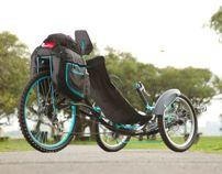 Aiken, recumbent trike // tricicleta recumbente by PIA ferreyra, via Behance