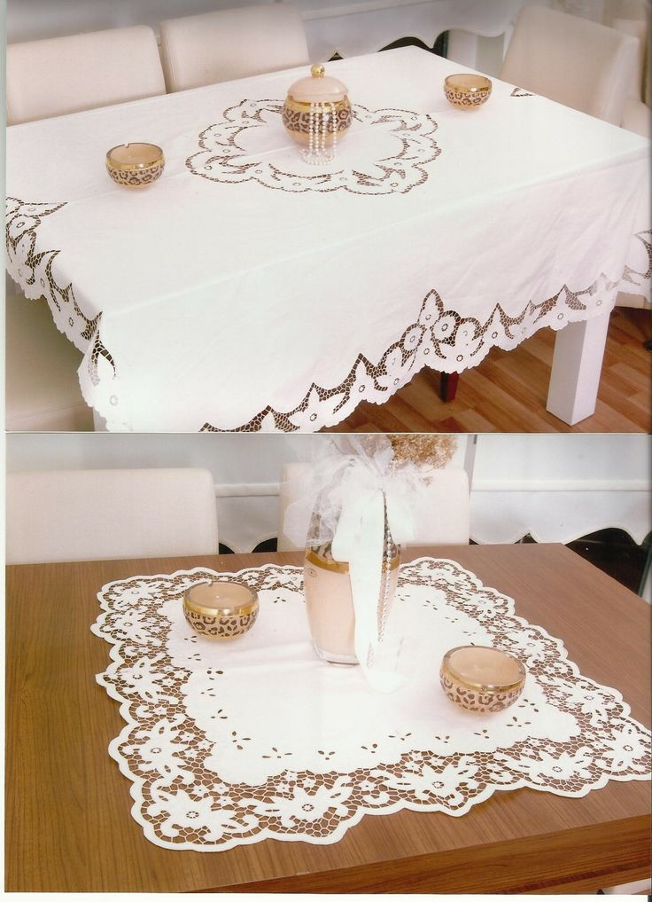 Handmade & tablecloth