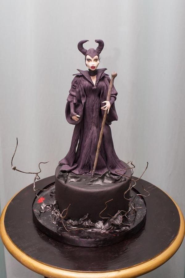 Maleficent Cake Topper