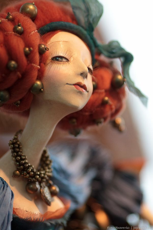 First there was Makakaako Mahal! - Doll Collection 2012 (Cultural Center DOM)  A lovely poppet by Tamara Pivnyuk - follow the link to more beautiful art dolls.