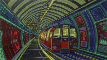 Gail Brodholt, Westbound on the Picadilly Line