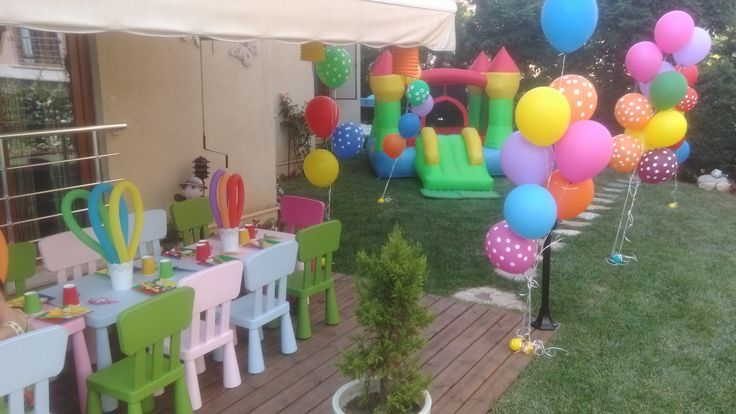 Bahçe Partisi&Garden party&Kids Birthday Party