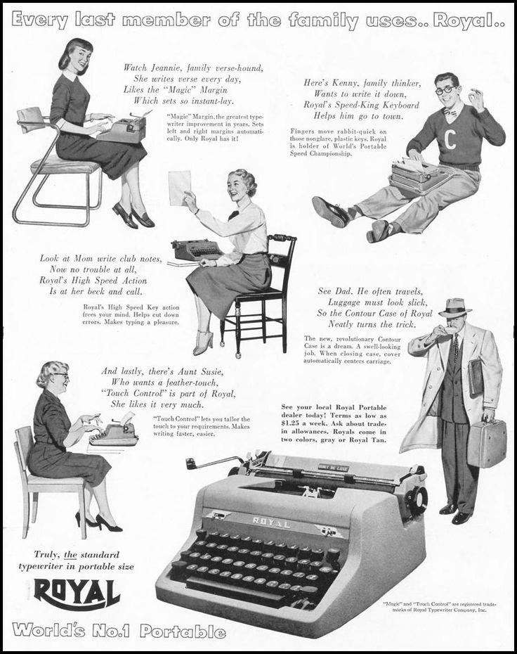 Vintage Royal Portable Typewriter Part - 49: Royal Typewriters · Portable TypewriterOffice ArtVintage ...