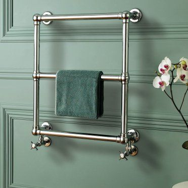 heated towel rack + wall color | Victorian Radiators | Traditional Towel Radiators – BathEmpire.com
