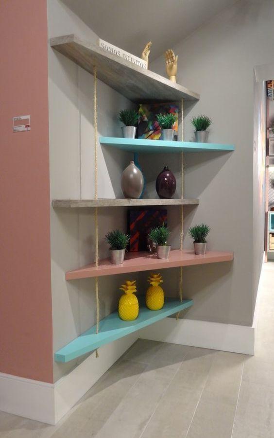 27 DIY Wonderful Shelving Ideas as Extra Storage S…