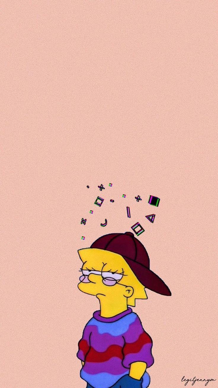 Lisa Simpsons Hd Phone Wallpaper Simpsons Wallpaper Wallpaperforyourphone Lisa Simpsons Hd Spongebob Wallpaper Cute Disney Wallpaper Simpson Wallpaper Iphone