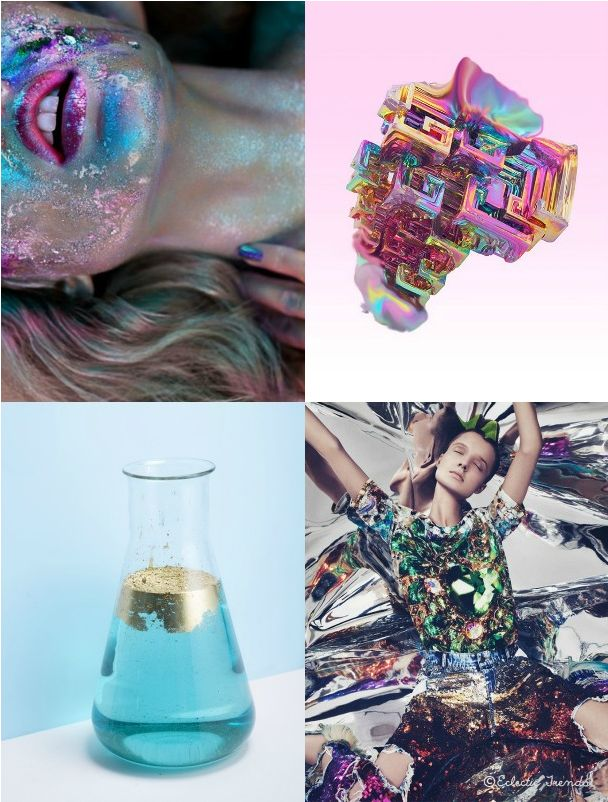 FASHION VIGNETTE: TRENDS // ECLECTIC TRENDS - AW 2016/17 GLOBAL COLOR RESEARCH - COSMIC PART IV