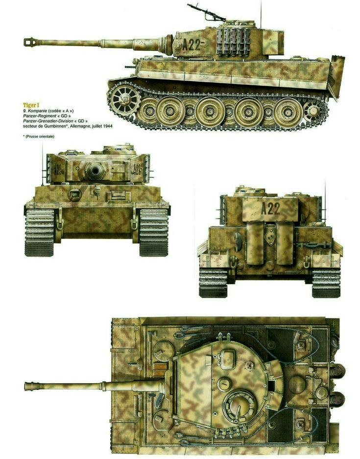 картинки танка тигр со всех сторон несколько