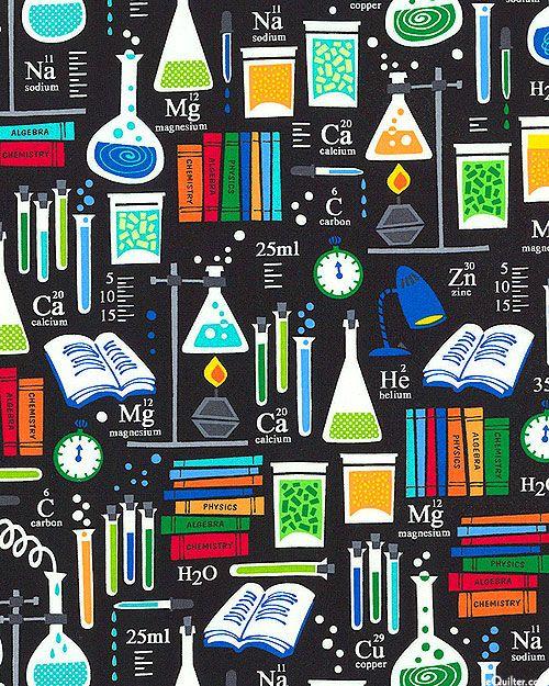 Academic Club - Chemistry Class - Black