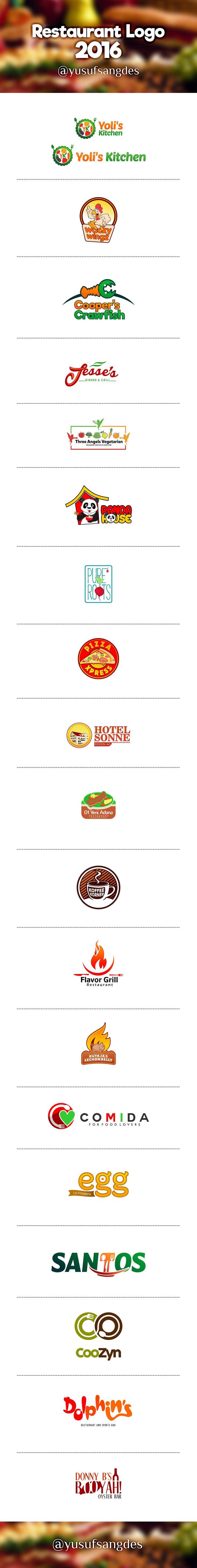 Behance :: Editing Restaurant Logo 2016 (January- May)
