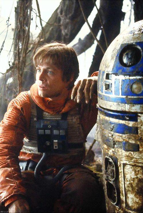 Luke Skywalker e R2D2 - Star Wars