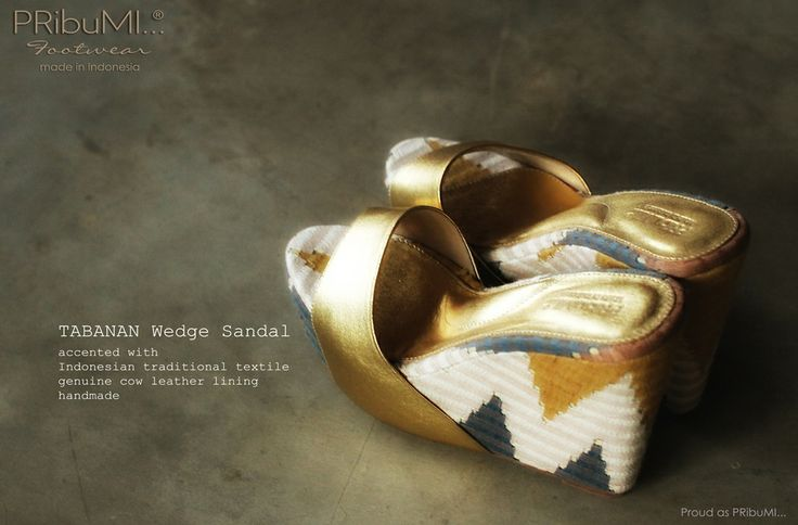 all that beauty! TABANAN Wedge Sandal by PRibuMI...