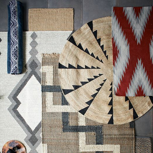 Whirlwind Jute Round Rug from west elm + Santa Fe's Museum of Indian Arts & Culture (MIAC)