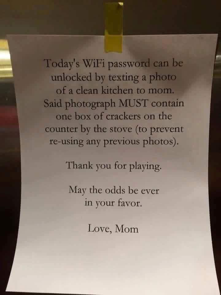 Wie eine Mama ihr Kind zum Putzen bringt