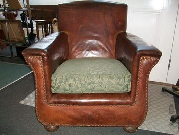 Leather Club Arm Chair Circa 1890 | Collectors Weekly