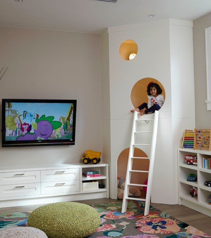 To play hide-and-seek #playroom #playroom #architecture #architect …  – Home Design Ideas