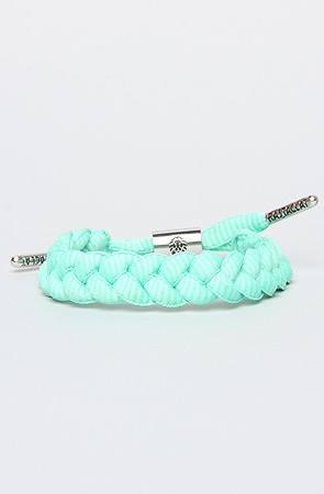 Rasta Clat The Shoelace Bracelet in Tiffany Teal : Karmaloop.com - Global Concrete Culture