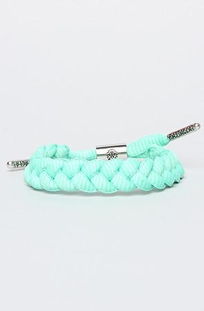 Rasta Clat The Shoelace Bracelet in Tiffany Teal : Karmaloop.com - Global Concrete Culture