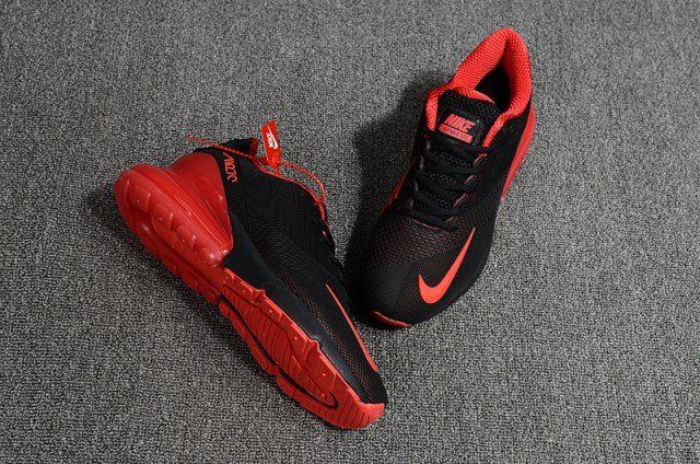 Nike Air Max Flair 270 Kpu Black Red Men S Running Shoes Nike Air Max Running Shoes For Men Best Running Shorts