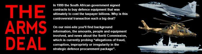 Formally known as the Strategic Defence Package, the arms deal, to use its notorious nickname, was a multi-billion-rand military acquisition project finalised in 1999 by the South African government.