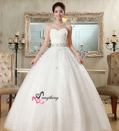 【楽天市場】【ウェディングドレス 二次会】妊婦さんもOK韓国風 刺繍 フリル ドレス 白 ドレス☆格安【結婚式】Aラインロングドレスエンパイアライン  ビスチェタイプ