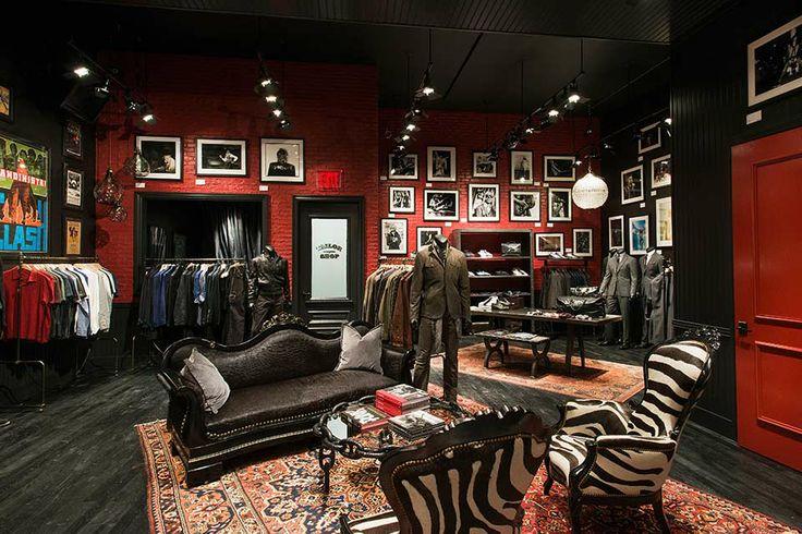 John Varvatos Toronto Boutique Store Retail Interiors