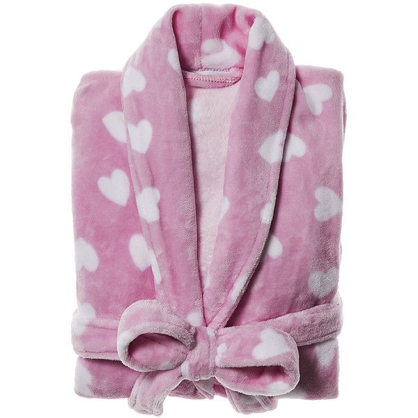 Ultra Soft Bathrobe Love Lolly Pink Bathroom ($56) ❤ liked on Polyvore featuring home, bed & bath, bath, bath accessories, pink flamingo bathroom accessories, pink bathroom accessories and pink bath accessories