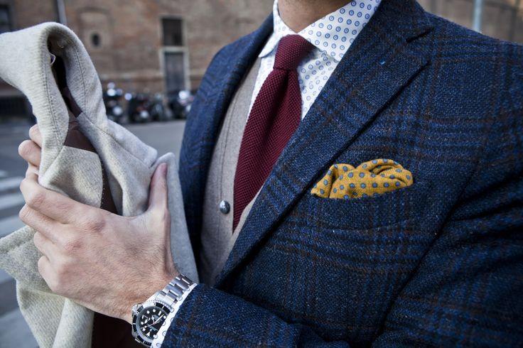 """Tenth picture in Fabio Attanasio's blog post """"MERANO COAT"""". Model: Fabio Attanasio."""