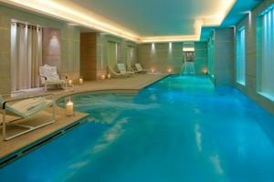 ...and after hammam, cool off in the pool... Le Burgundy, Paris, FR
