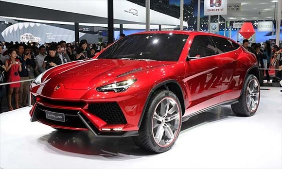 Lambo SUV.  Very Nice, but only in my dreamiest of dreams :)    #Lamborghini #SUV #Dreams