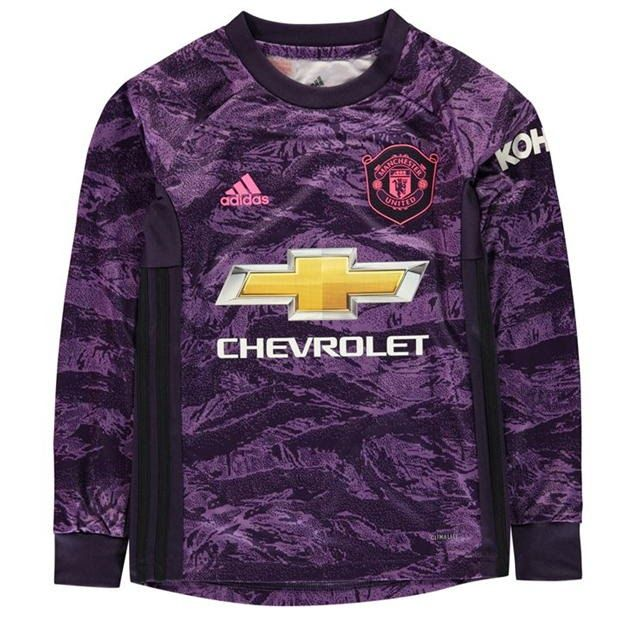 Adidas Manchester United Home Goalkeeper Shirt 2019 2020 Junior Adidas Goal In 2020 Goalkeeper Shirts Manchester United Goalkeeper Kit Manchester United Football Kit