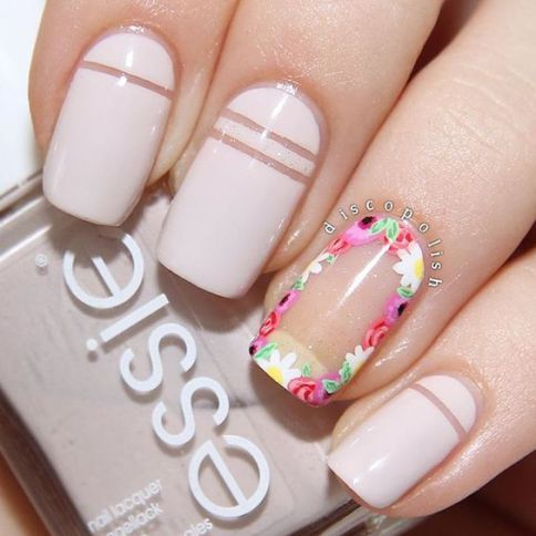 Negative Space Nail Designs To Try ASAP