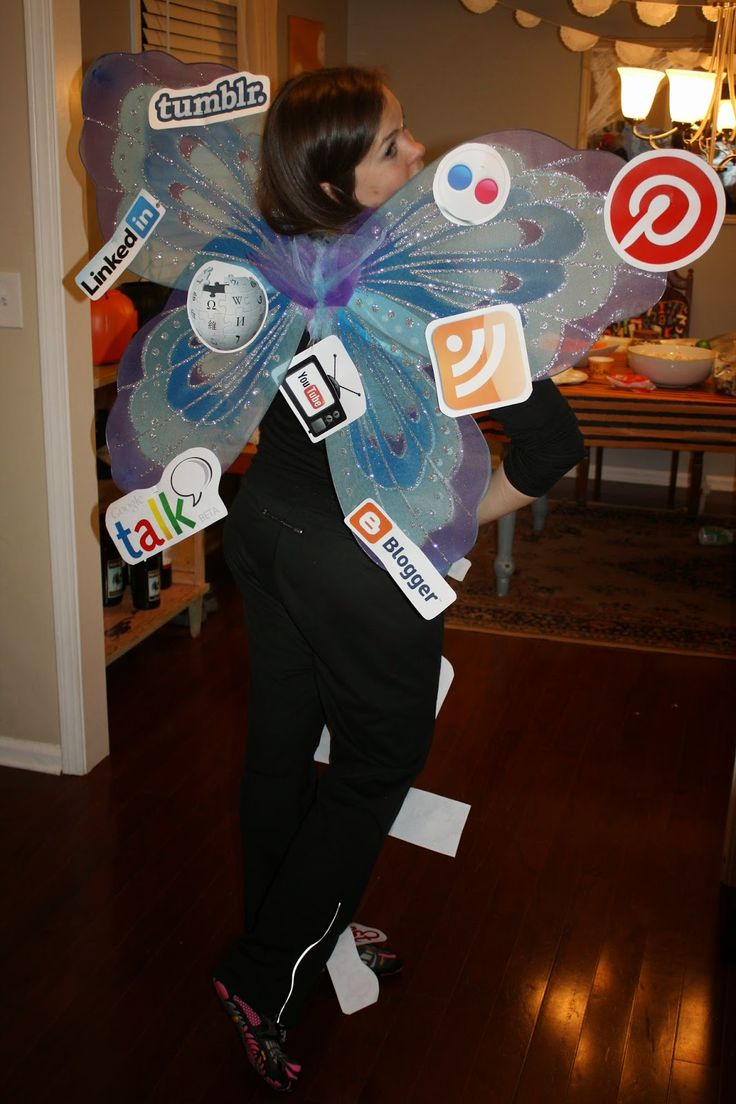 Social Butterfly - Costume